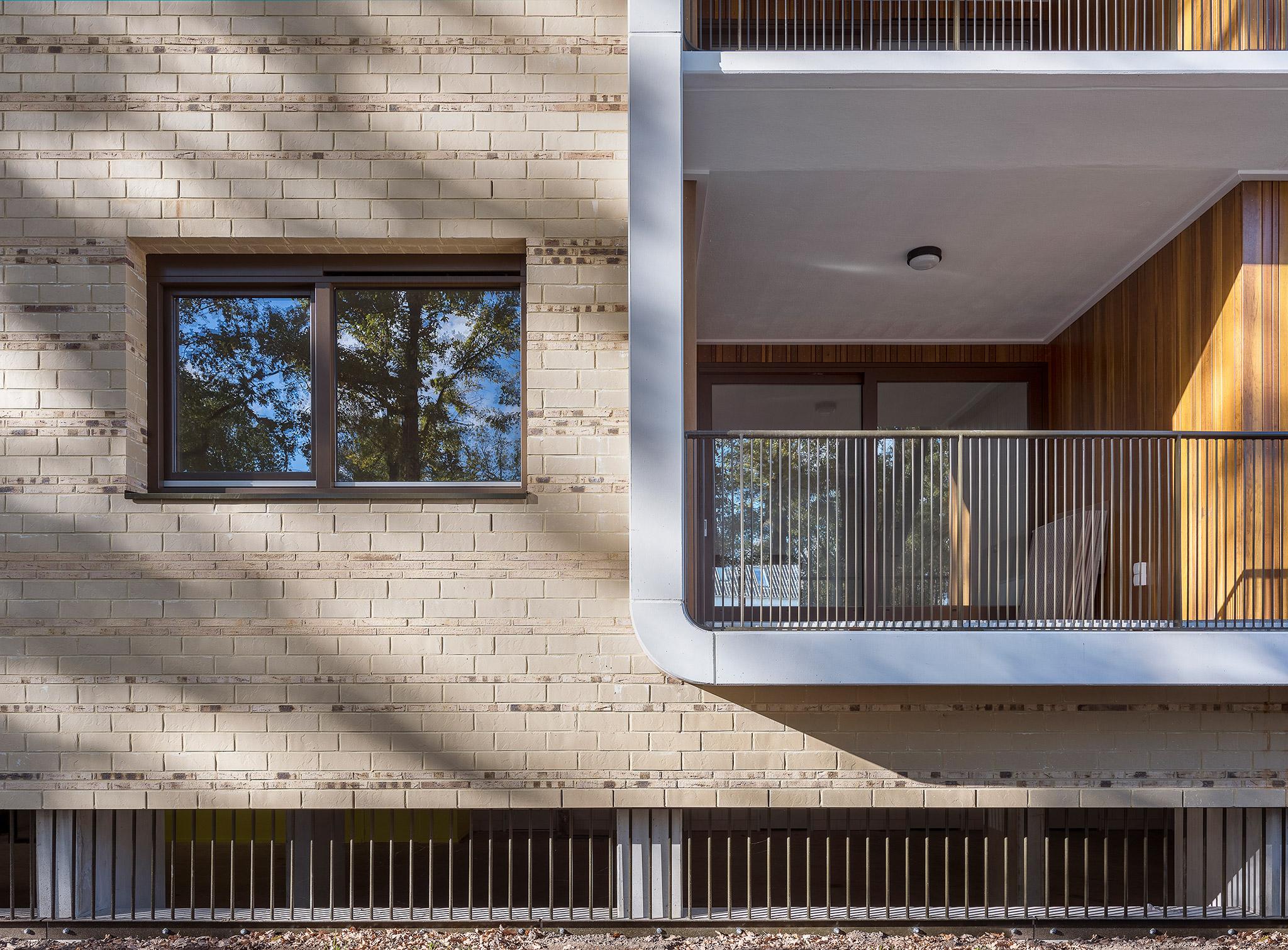 Simone Drost Architecture Planet Pab Architecture Appartementen Stdhouderspark Vught materiaal detail