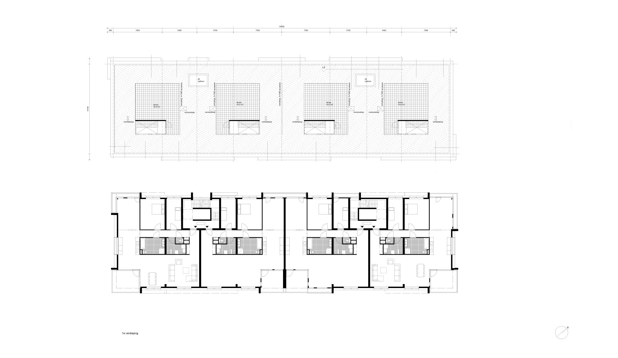 Simone Drost Architecture Planet Pab Architecture Appartementen Stadhouderspark Vught plattegronden