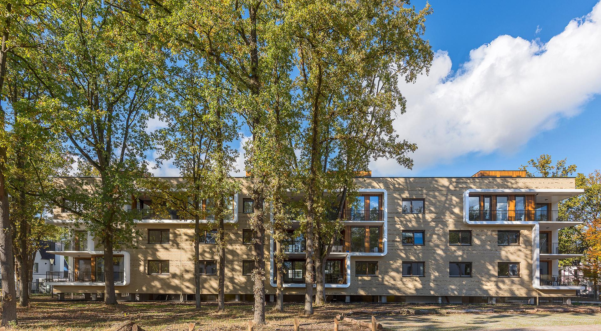 Simone Drost Architecture Planet Pab Architecture Appartementen Stdhouderspark Vught voorgevel overzicht