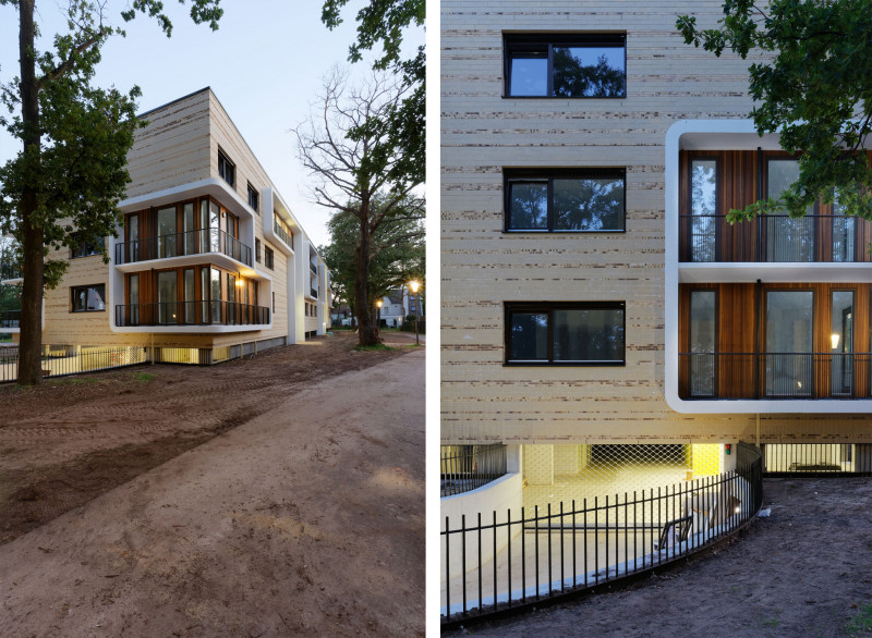 Simone Drost Architecture Planet Lab Architecture Appartementen Stadhouderspark Vught garage
